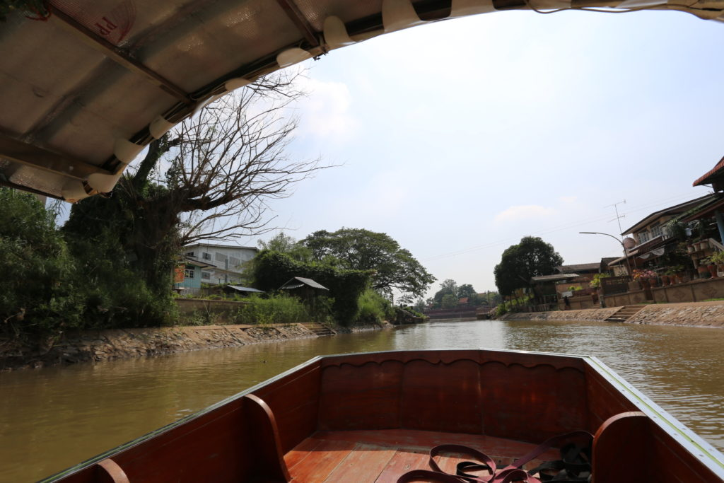 Ayuttaya by boat